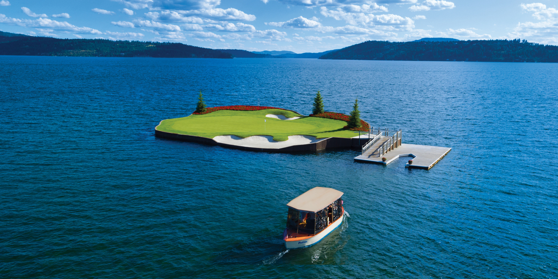 The Coeur dAlene Golf Resort