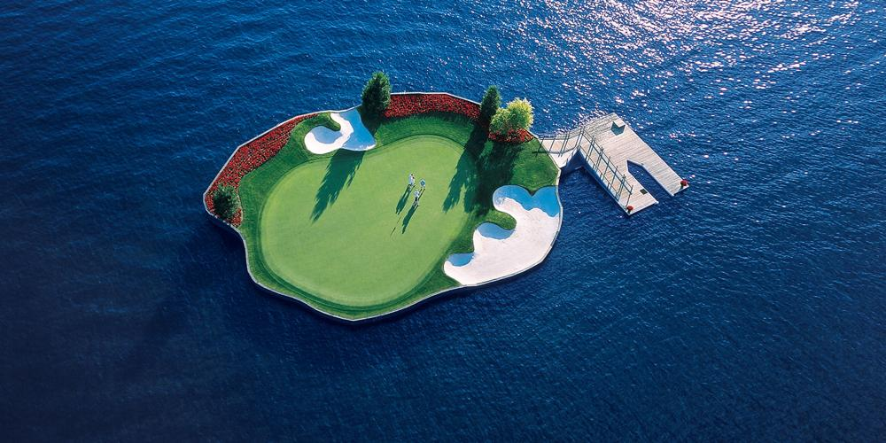 Home of The Floating Green