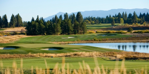 Osprey Meadows Golf Course at Tamarack Resort Idaho golf packages